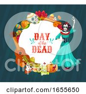 Day Of The Dead Dia De Los Muertos Design by Vector Tradition SM