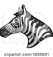 Profiled Tough Zebra Head