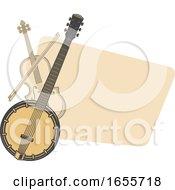 Violin And Banjo by Vector Tradition SM