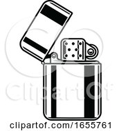 Black And White Lighter