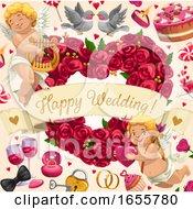 Poster, Art Print Of Wedding Design