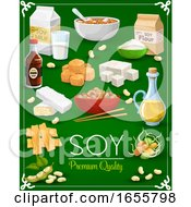 Poster, Art Print Of Soy Food Products