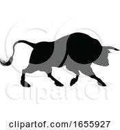 Bull Silhouette