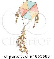 Poster, Art Print Of Flying Kite