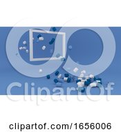 Minimalist Geometric Shape Background