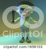 Undead Zombie Monster Police Officer
