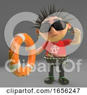 Heroic Punk Rock Kid Offers A Life Preserver