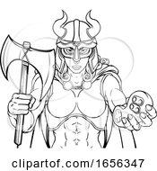 Spartan Trojan Female Warrior Gamer Woman