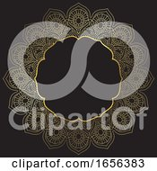 Poster, Art Print Of Golden Mandala