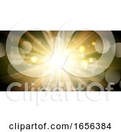 Sunburst Banner Design
