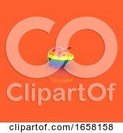 3d Rainbow Flag Piggy Bank