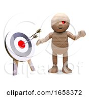 Accurate Egyptian Mummy Monster Has Hit The Bullseye by Steve Young