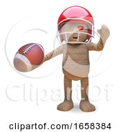 Egyptian Mummy Monster Has Taken Up American Football by Steve Young