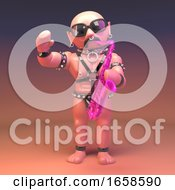 Gay Fetish Leather Man Is A Self Confessed Player Of The Pink Saxophone