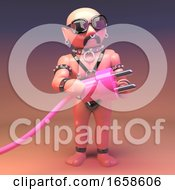 Gay Sexy Leather Man Wants To Plug In His Pink Unit