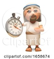 Efficient Jesus Christ Son Of God Using A Stopwatch