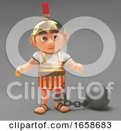 Naughty Roman Centurion Soldier Punished And Made To Wear A Ball And Chain
