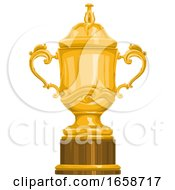 Golden Championship Trophy Cup