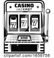 Black And White Casino Design