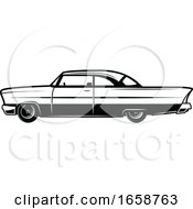 Black And White Classic Car