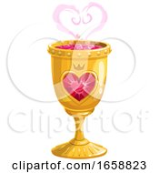 Poster, Art Print Of Love Spell In A Goblet