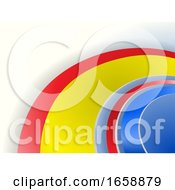 07/16/2019 - Abstract Multi Color Curved On White Background