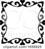 Black And White Elegant Frame