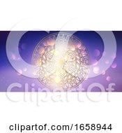 Decorative Mandala Banner