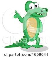 Alligator Presenting