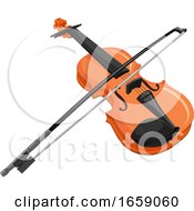 Vector Of Violin