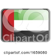 Vector Illustration Of United Arab Emirates Flag by Morphart Creations