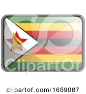 Vector Illustration Of Zimbabwe Flag by Morphart Creations