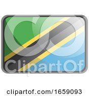 Poster, Art Print Of Vector Illustration Of Tanzania Flag