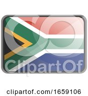 Vector Illustration Of South Africa Flag