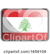Vector Illustration Of Lebanon Flag by Morphart Creations