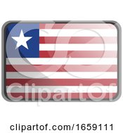 Vector Illustration Of Liberia Flag