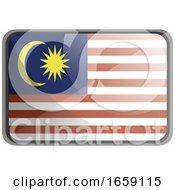 Vector Illustration Of Malaysia Flag