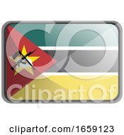 Vector Illustration Of Mozambique Flag