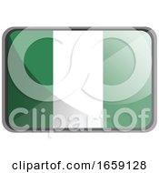 Vector Illustration Of Nigeria Flag