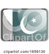Poster, Art Print Of Vector Illustration Of Pakistan Flag