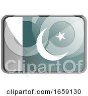 Vector Illustration Of Pakistan Flag