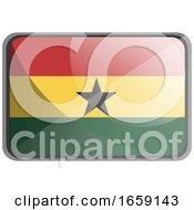 Vector Illustration Of Ghana Flag