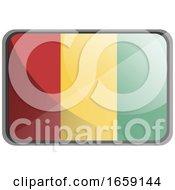 Vector Illustration Of Guinea Flag