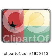 Vector Illustration Of Guinea Bissau Flag