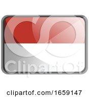 Vector Illustration Of Indonesia Flag