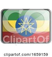 Vector Illustration Of Ethiopia Flag