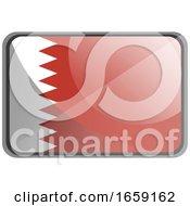 Vector Illustration Of Bahrain Flag