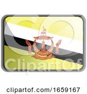 Poster, Art Print Of Vector Illustration Of Brunei Flag