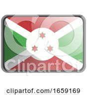 Poster, Art Print Of Vector Illustration Of Burundi Flag