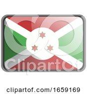 Vector Illustration Of Burundi Flag